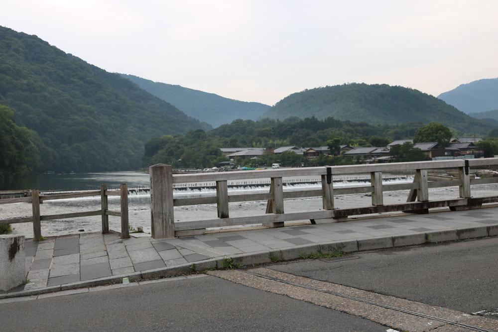 嵐山公園 渡月橋
