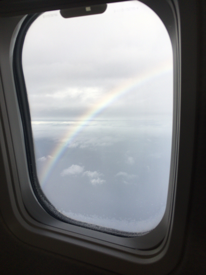 石垣島の虹