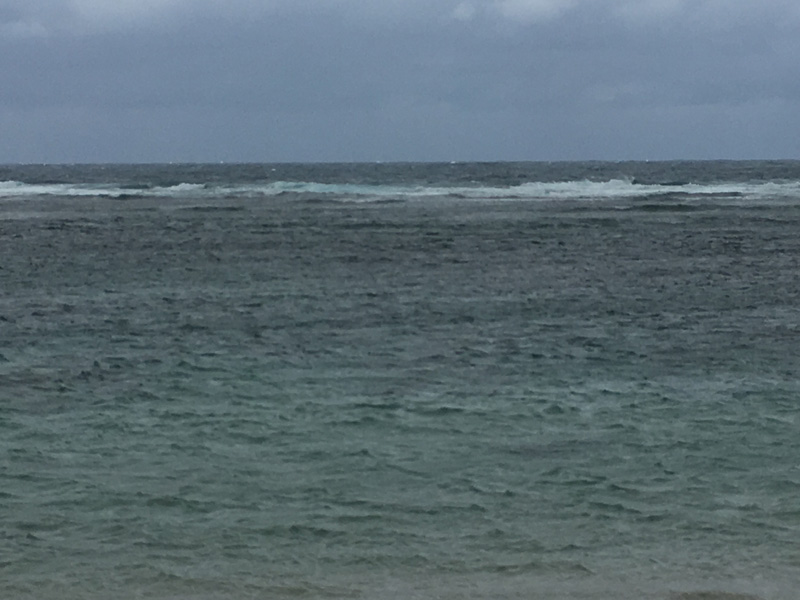 米原ビーチの波